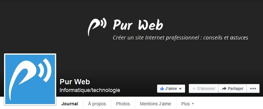 pourquoi créer une page facebook