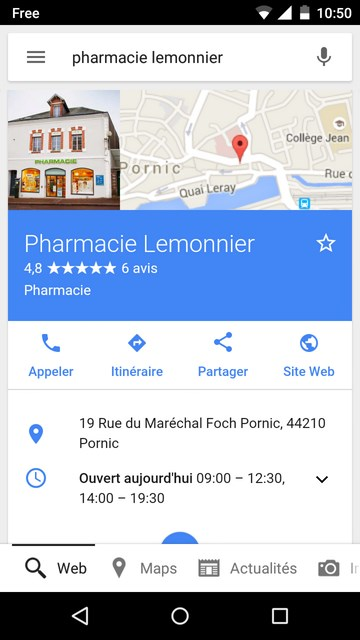 referencement local mobile